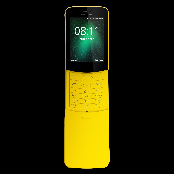 Slide to talk with the newest member of the Originals family, the 8110 4G