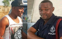 The two Police officer who were killed
