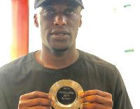 Ghanaian forward, Ishmael Yartey