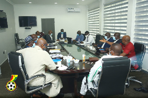 The Committee submitted a copy of their final report to the GFA General Secretary last month