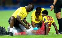 Black Stars attacker Thomas Agyepong