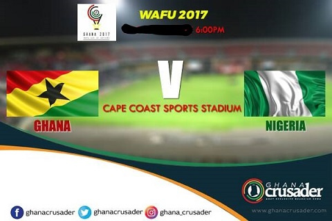 West African rivals, Ghana and Nigeria will battle for the right to be crowned 2017 WAFU Champions