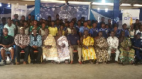 Dignitaries and students present at the launch