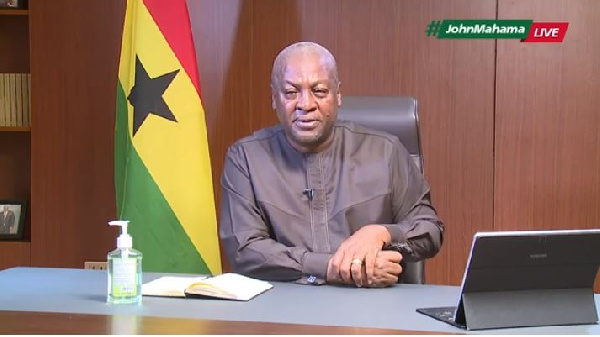 NDC sets up coronavirus technical team, committed to assisting gov't fight pandemic - Mahama