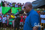 Mahama charges NDC members to be vigilant on election day