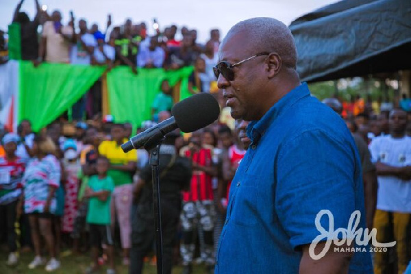 Mahama reveals how NDC will lose December 7 polls