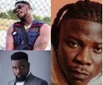 Ghanaian musicians; Stonebwoy, Medikal and Sarkodie