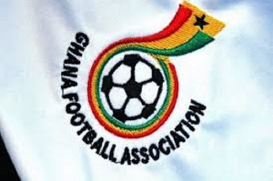 Logo of the Ghana Football Association