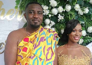 John Dumelo and wife