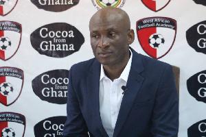 Newly-appointed head coach of Kumasi Asante Kotoko Prosper Narteh Ogum
