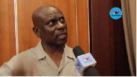 Deputy Defence Minister Major Derrick Oduro
