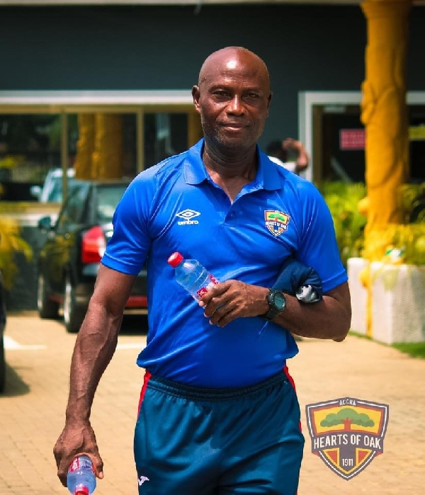 W.O Tandoh joins Hearts technical bench ahead of Kotoko clash