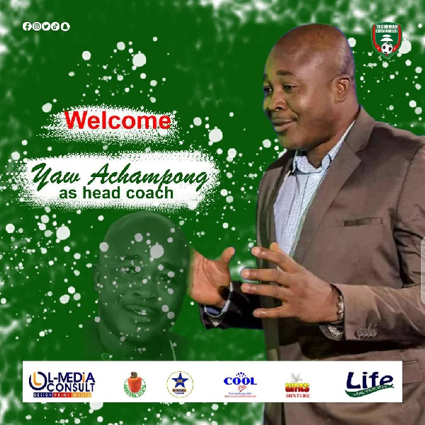 Techiman Eleven Wonders appoint experienced Yaw Acheampong as head coach