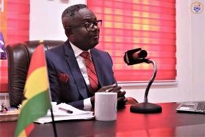 Flagbearer of the Liberal Party of Ghana (LPG), Kofi Akpaloo