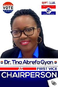 Tina Abrefa  Gyan