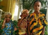 Daddy Lumba's three children