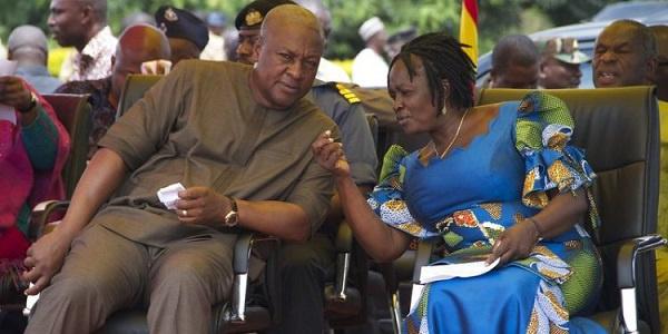 I accept your nomination; I'll help you win – Jane Naana to Mahama
