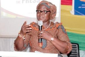 Madam Justina Owusu-Banahene, the Sunyani Municipal Chief Executive