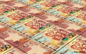 The Ghana cedi is projected to decline in value to the US dollar by 8.60% ± 1.50% at the end of 2020