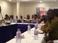 Cross section of participants launch of the report