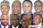 File photo of some of the MPs who will not be returning to Parliament next year