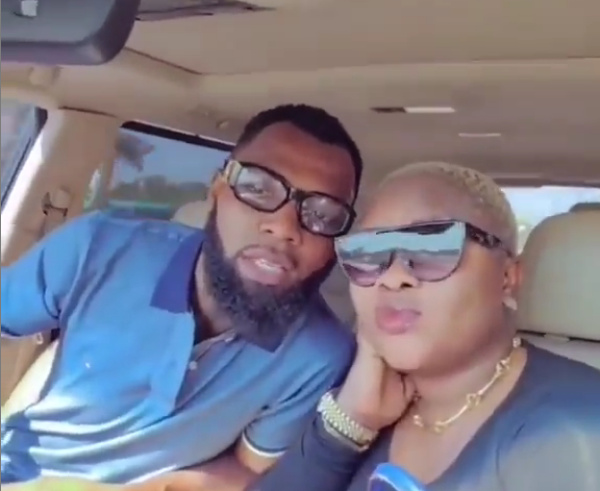 Rev. Obofour and wife 'bless' fans with new 'lovey-dovey' video