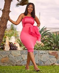 Ghanaian actress Joselyn Dumas