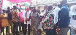 NDC running mate asked North Tongu constituents to vote for party