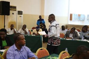 The last session which was organized in Koforidua
