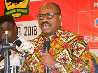 Chief Executive Officer of Asante Kotoko, George Amoako