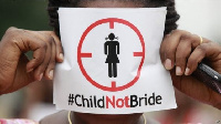 An anti-child marriage campaign is being championed by the Upper Wesr Chief