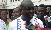 Hon Yaw Frimpong Addo, MP for Manso Adubia