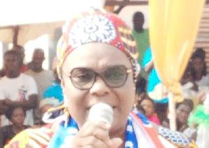 Naana Eyiah Quansah, MP, Gomoa Central