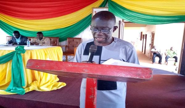 Samuel Adu-Gyamfi, MCE of Aowin Municipal Assembly