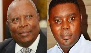 Martin Amidu, Former Special Prosecutor and George Ayisi
