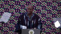 President John Dramani Mahama delivering State of Nation Address 2016