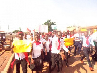 File photo: Teacher trainees demonstrate against cancellation of allowances