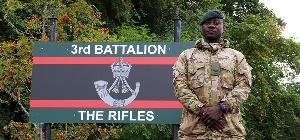 Lance Corporal Precious Obeng