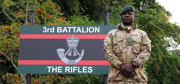The story of Lance Corporal Precious Obeng: From Sekondi-Takoradi to the British army