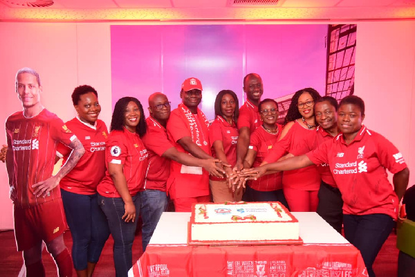 Standard Chartered marks 10 years of partnership with Liverpool FC