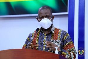 Patrick Kuma-Aboagye is DG of Ghana Health Service