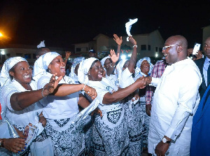 Dr. Bawumia, a devout Muslim, is gaining admiration for his promotion of  religious tolerance
