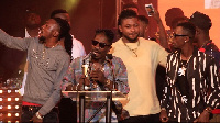 Shatta Wale walked home with the ultimate award of the night