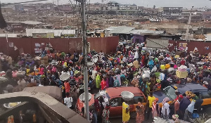 The traders however say the authorities have not given them an alternative place to move to