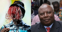 From left to right: Anas Aremeyaw Anas and Martin Amidu