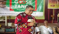 NDC flagbearer hopeful, Goosie Tanoh