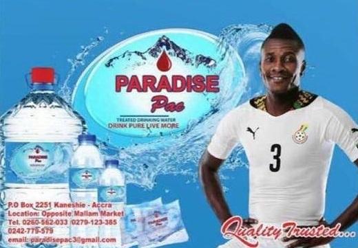 Asamoah Gyan owns Paradise Pak