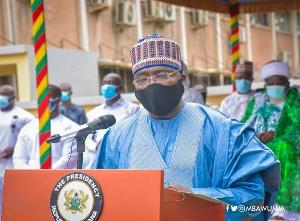 Bawumia Virtual Eid Prayer