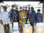 Volta Union UK/Europe donates protective items to Ho Teaching Hospital