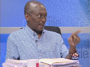 Editor of the New Crusading Guide newspaper, Kweku Baako